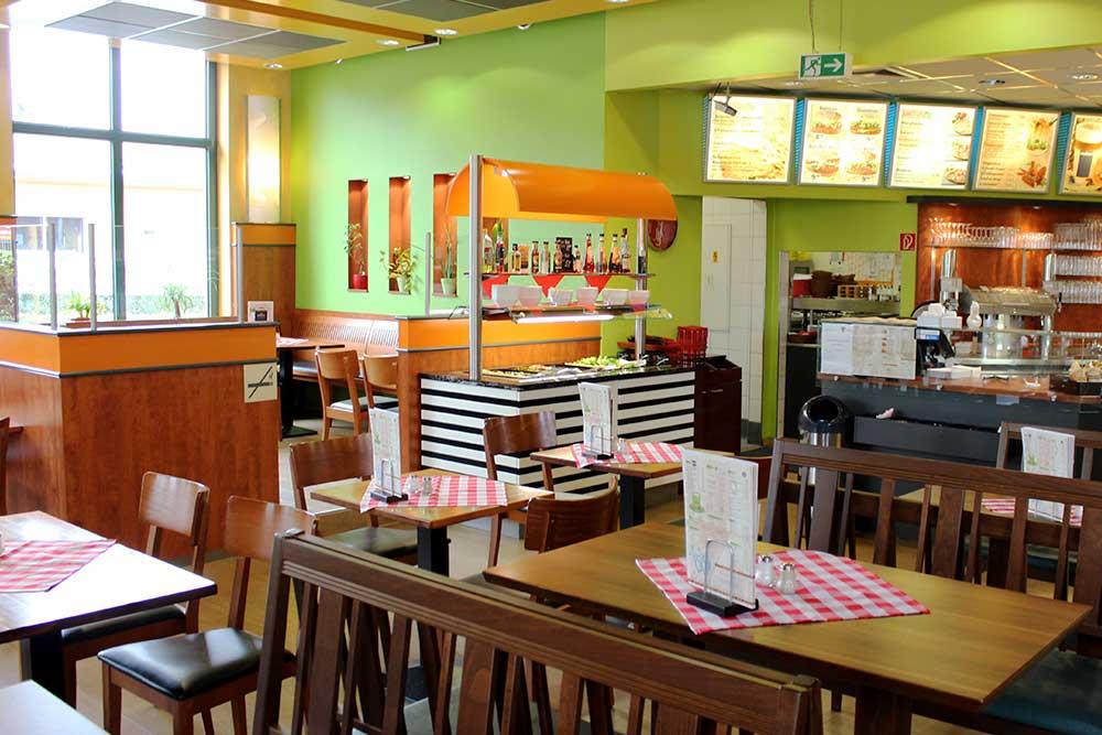 Sitzmoeglichkeiten Restaurant