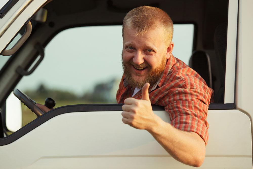 Bild von Trucker